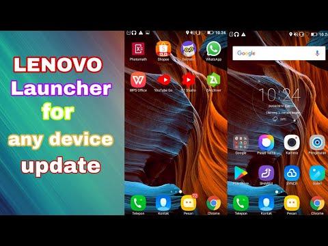 Cara download update Lenovo launcher