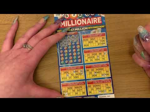 £5 National Lottery Scratch Cards Mix, Multiple Wins, Bingo Millionaire, 20X, Monopoly Scratchies