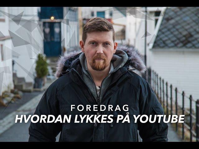 Hvordan lykkes på YouTube - PROMO