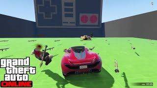 GTA 5 Online - Last Team Standing: #Cars vs RPG Retro Game #1