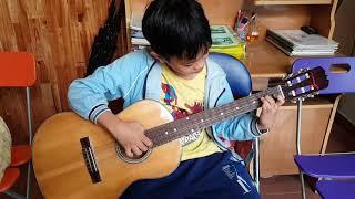 Học Đàn Guitar Tại Đà Nẵng - Wasabi Guitar - Bạn Đạt lớp 6 trả bài cho Thầy Giáo
