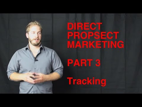 Direct Prospect Marketing - Tracking - Part 3