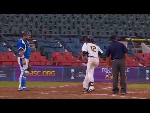 WBSC Australian Baseball Team Hlighlights