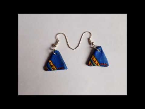 How to make clay earrings like sookie