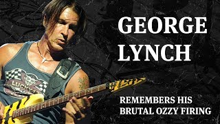 George Lynch Remembers His Brutal Ozzy Firing MP3