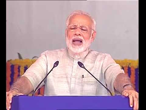 Prime Minister Narendra Modi 's speech at Dwarka in Gujarat