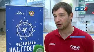 В Мирнинском районе звезды хоккея провели очередной для юных спортсменов открытый урок
