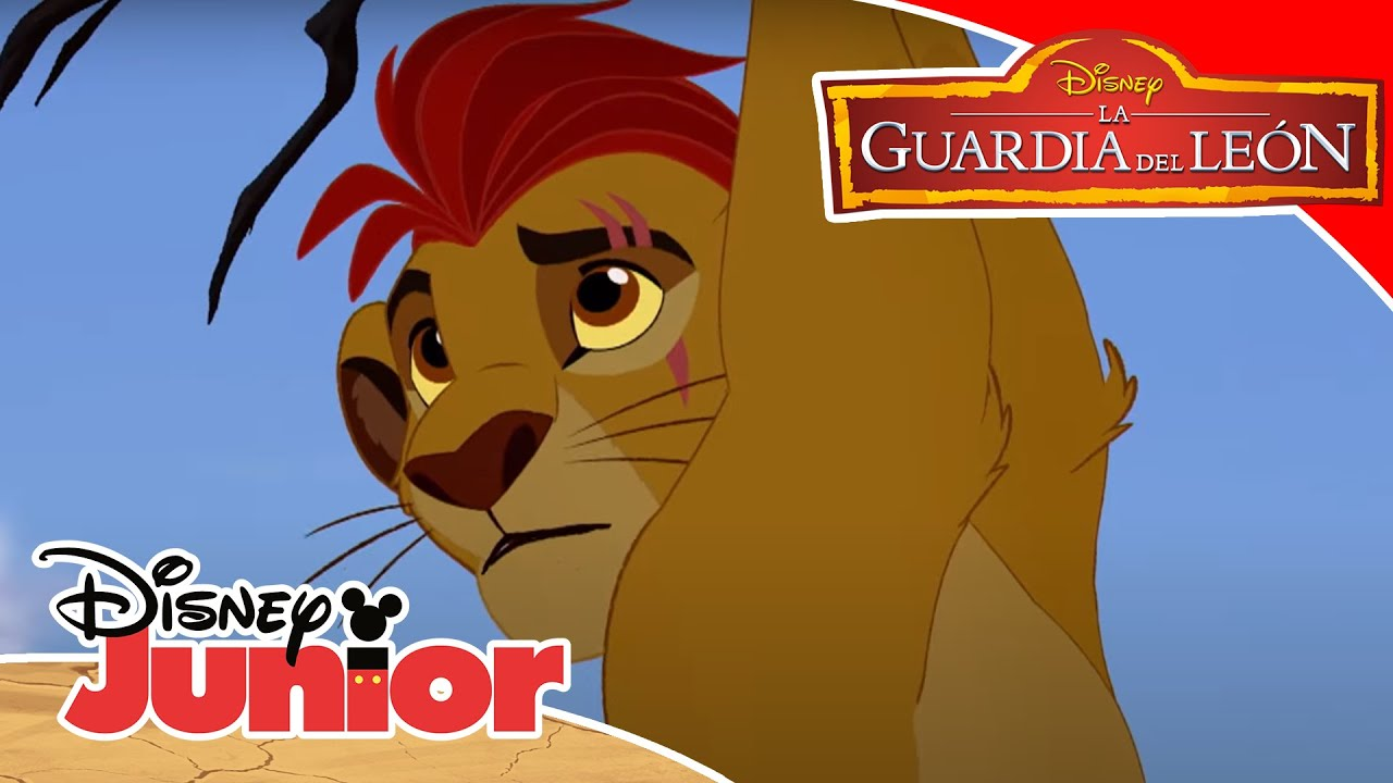 la guardia del leon al rescate de kion disney junior oficial