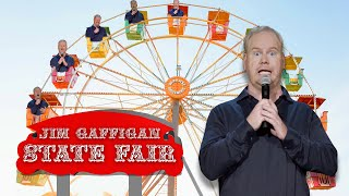 """""""Fairs are SO DANGEROUS..."""" - Jim Gaffigan Stand up (Cinco)"""