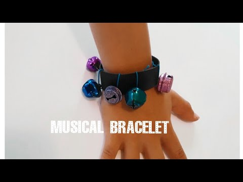How to make musical instruments - Bell Bracelet