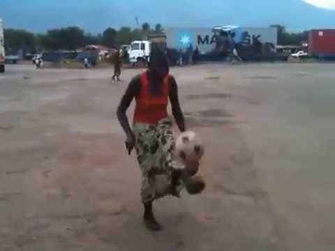 Best Tanzanian Woman Dribbler