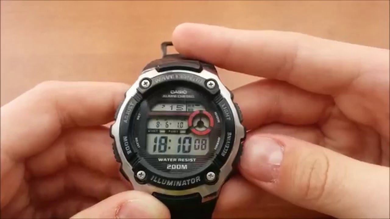 Casio wave ceptor wv59de1a копия