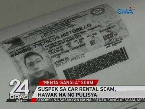 24 Oras: Suspek sa car rental scam, hawak na ng pulisya