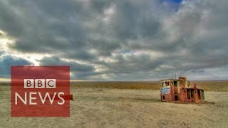 Aral Sea: The sea that dried up in 40 years - BBC News