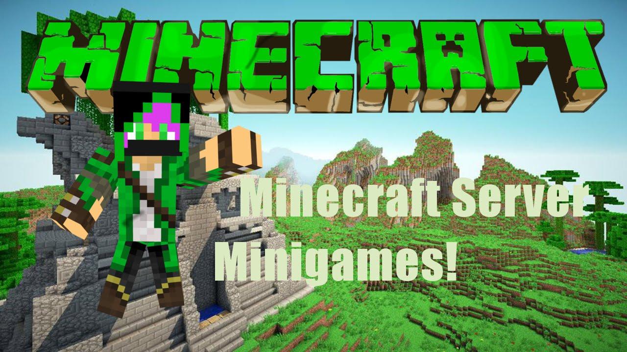 Minecraft Server Minigames YouTube