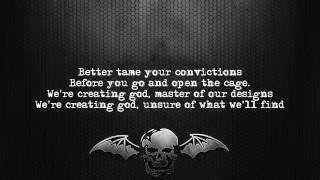 Avenged Sevenfold - Creating God [Lyrics on screen] [Full HD]