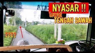 "BUS MASUK TENGAH SAWAH, CREW + PNP BINGUNG! TRIP REPORT Po. TENTREM ""Patas"" (Malang-Surabaya)"