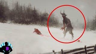 5 видео, в которых случайно засняли что-то паранормальное Часть 5