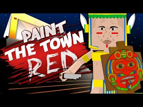 AZTEC'S END - Best User Made Levels - Paint the Town Red