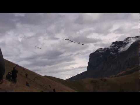 Fliegerschiessen Schweizer Luftwaffe Axalp 2012 FullHD (Swiss army aircraft shooting)