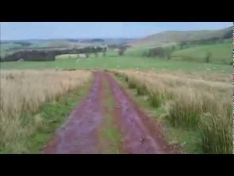 Walking in the Cheviot Hills - Ingram Hillfort Trail