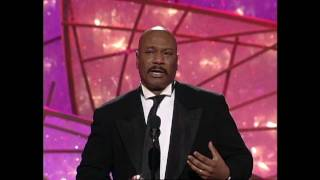 Ving Rhames Wins Best Actor Mini Series - Golden Globes 1998