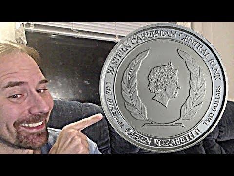 Antigua & Barbuda 2 dollar 2018 coin - Silver Rum Runner