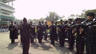 Indian Army Bagpipers