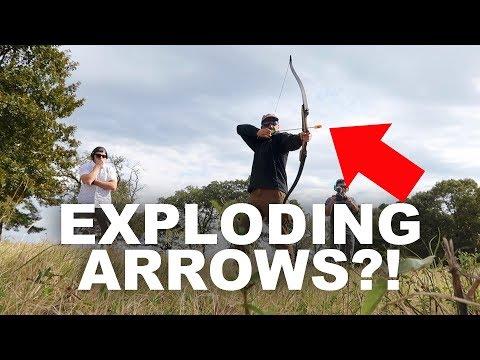 Tannerite On An Arrow - Will It Work?