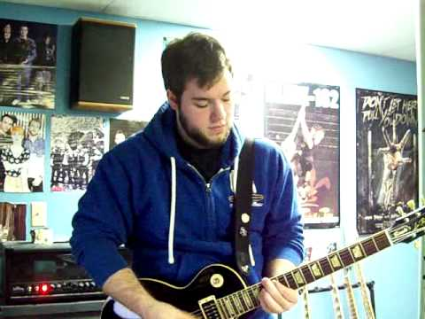 Alkaline Trio - Fall Victim (guitar cover)