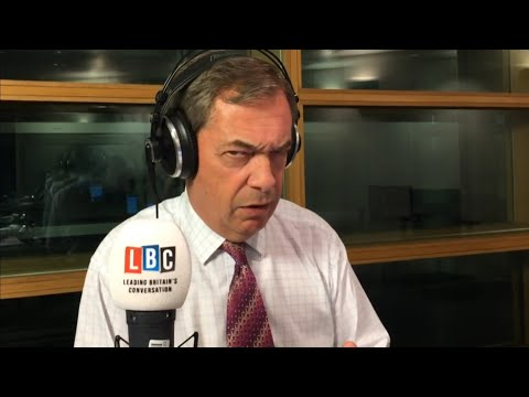 The Nigel Farage Show: 95% of Brexit deal is done,should we give the PM more time? LBC-22nd Oct 2018