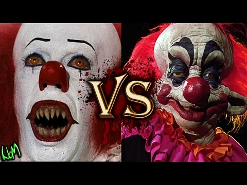IT Versus Killer Klowns from Outer Space (Pennywise VS Rudy) - Monster Battles