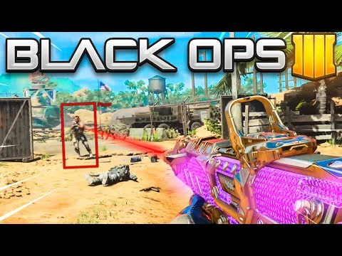 this is like cheating in Black Ops 4..