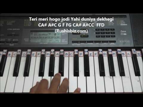 Tu..uuu.... Kab Ye Janegi - Indi Pop (Piano Tutorials)