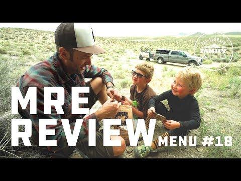 MRE Review Menu 18 Beef Ravioli