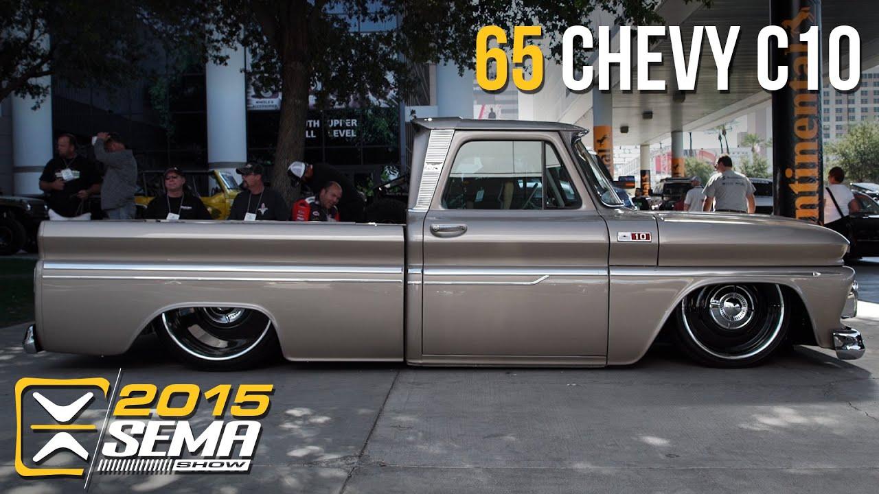 Sema 2015 1965 Chevy C10 Tino Garza Youtube