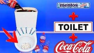 PRANKS! Funny Pranks Compilation & Mentos and Coca Cola in Toilet!