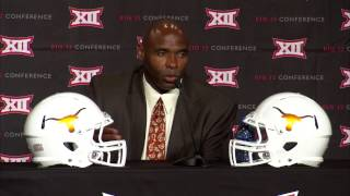 Big 12 Media Day: Charlie Strong Press Conference [July 21, 2015]