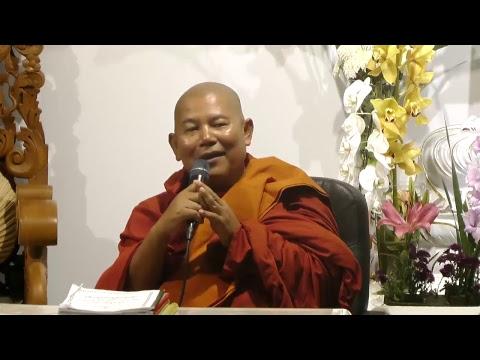 (24-May-2018 07:30 PM) Baddanta TuSitta Bhivumsa AloTawPyi Dhamma Saria University