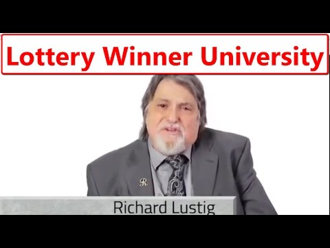 LOTTERY WINNER UNIVERSITY RICHARD LUSTIG 7-TIME LOTTERY LOTTO WINNER - POWERBALL MEGA MILLIONS BONUS