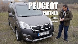 Peugeot Partner Tepee Outdoor (ENG) - Test Drive and Review