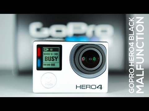 Malfunctioning GoPRO HERO4 Black | Problems Illustrated