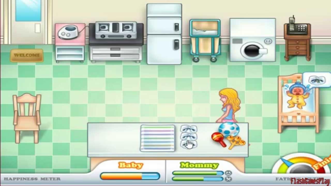 Baby Care Game - GirlGames4u.com