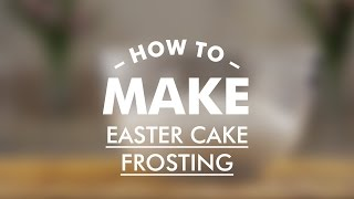 How To Make Easter Cake (kulich) Frosting || Around The World: Easter Dinner || Gastrolab