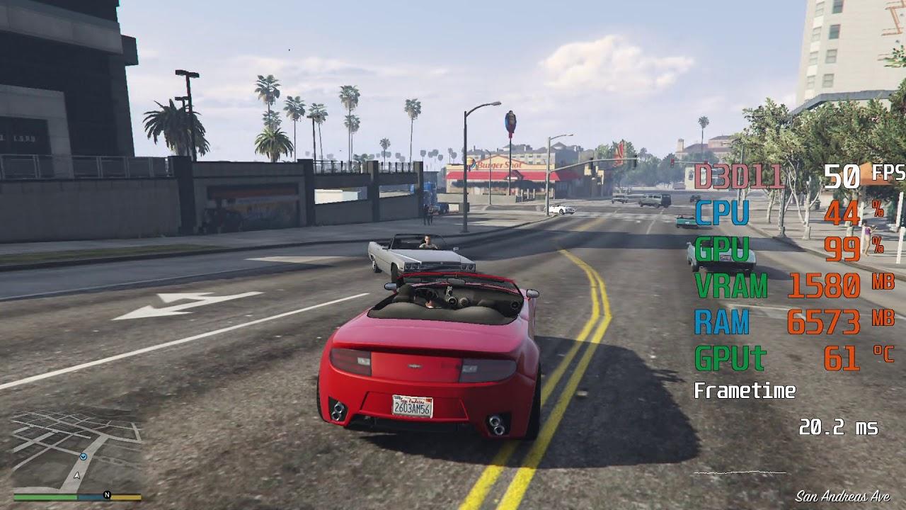 Radeon Vega 11 Graphics Amd Ryzen 5 3400g Grand Theft Auto V Gta V Fps Test Youtube