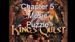 King's Quest: Music puzzle Chapter 5