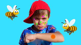 Bogdan si albinile   Sketch Bogdan's Show   Video pentru copii