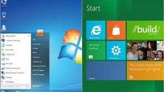 Make windows 8 look like 7 (return of start menu)