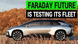 Faraday Future is Testing Its FF91 Prototype Cars