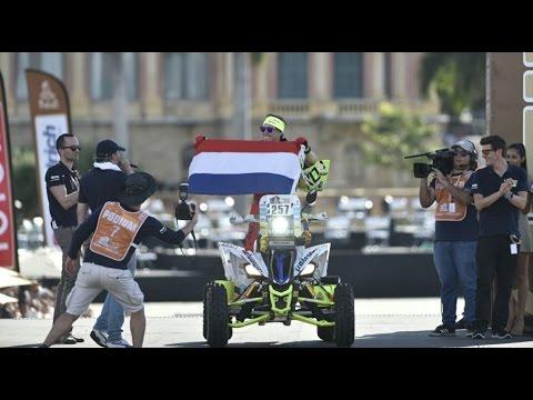 Largada simbólica del Dakar 2017 - Costanera de Asunción - Paraguay